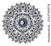 abstract space sacred geometry...   Shutterstock .eps vector #1014769576