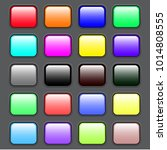 colorful set of web buttons... | Shutterstock .eps vector #1014808555