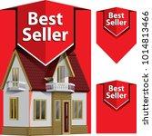 best seller  icon design... | Shutterstock .eps vector #1014813466
