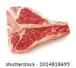 close up view of marble t bone... | Shutterstock . vector #1014818695
