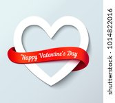 valentines day abstract... | Shutterstock .eps vector #1014822016