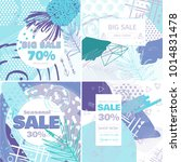fashion sale and special offer...   Shutterstock .eps vector #1014831478