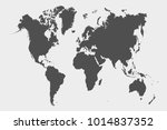 political world map | Shutterstock .eps vector #1014837352