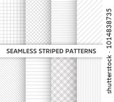 seamless striped vector... | Shutterstock .eps vector #1014838735