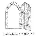 cartoon vector doodle drawing...   Shutterstock .eps vector #1014851212
