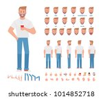 young man character for your... | Shutterstock .eps vector #1014852718