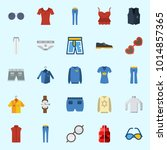 icons about man clothes with... | Shutterstock .eps vector #1014857365