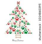 Christmas Tree Made Of Bone And ...