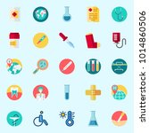 icons about medical with drop... | Shutterstock .eps vector #1014860506