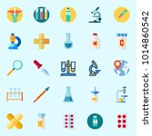 icons about medical with... | Shutterstock .eps vector #1014860542