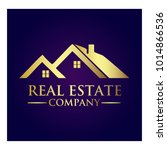 real estate property company... | Shutterstock .eps vector #1014866536