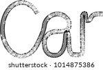 vector print textured tire... | Shutterstock .eps vector #1014875386