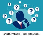 vector picture of businessman... | Shutterstock .eps vector #1014887008
