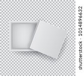 white open empty squares... | Shutterstock .eps vector #1014896632