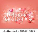 illustration of valentines day...   Shutterstock .eps vector #1014910075