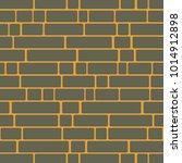 seamless texture of a brick... | Shutterstock .eps vector #1014912898