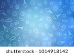 light blue vector layout with... | Shutterstock .eps vector #1014918142