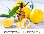 bergamot citrus fruit essential ... | Shutterstock . vector #1014963742