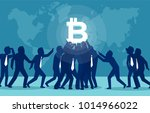 vector illustration of people... | Shutterstock .eps vector #1014966022
