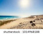 fuerteventura  view for playa... | Shutterstock . vector #1014968188