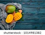 Mango. Tropical Fruits. On A...