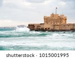 citadel of qaitbay in... | Shutterstock . vector #1015001995
