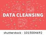 conceptual business... | Shutterstock . vector #1015004692