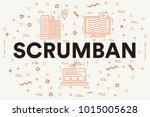 conceptual business... | Shutterstock . vector #1015005628