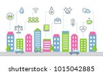 sustainable development and... | Shutterstock .eps vector #1015042885
