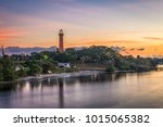 jupiter  florida  usa at... | Shutterstock . vector #1015065382