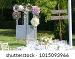 vintage decoration used as... | Shutterstock . vector #1015093966