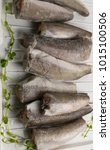 Small photo of frozen hake fish