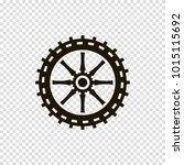 car wheel vector icon | Shutterstock .eps vector #1015115692