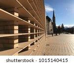 liechtenstein  vaduz   january... | Shutterstock . vector #1015140415