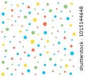 colorfull polkadot background seamless pattern