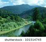 Rogue River In Southern Oregon