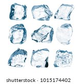 set peaces of pure natural... | Shutterstock . vector #1015174402