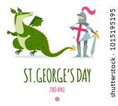 St. George's Day Card With...
