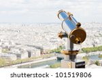 Sightseeing Telescope At The...