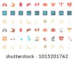 medicine flat icon | Shutterstock .eps vector #1015201762