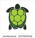 logo green turtle | Shutterstock .eps vector #1015204426