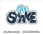 the snake's logo wriggles | Shutterstock .eps vector #1015204456