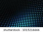 metal mesh grild. abstract 3d... | Shutterstock . vector #1015216666
