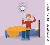 wake up design   Shutterstock .eps vector #1015220416