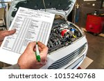 car services / checklist when checking the technical condition of a car in a car service