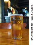 a pint of ale against the... | Shutterstock . vector #101524396