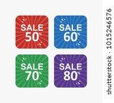 discount special sale banner... | Shutterstock .eps vector #1015246576