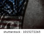 usa flag vintage background | Shutterstock . vector #1015272265