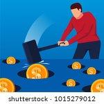 whack a mole   Shutterstock .eps vector #1015279012