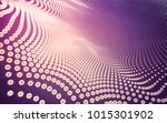 abstract polygonal space low... | Shutterstock . vector #1015301902